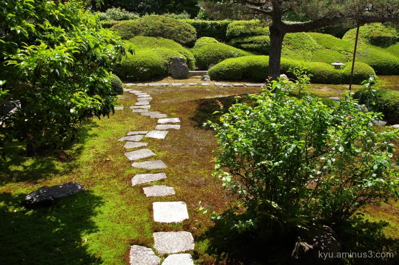dry-landscape garden Ikkain temple Kyot
