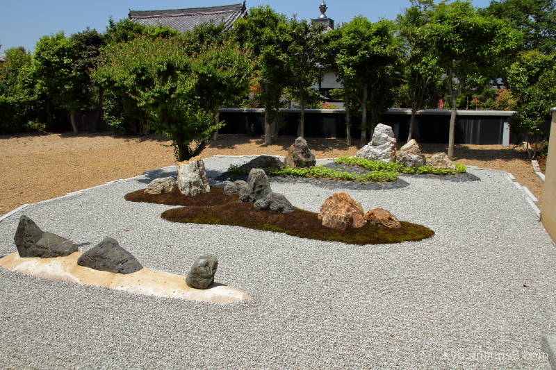 dry-landscape-garden Ikkain temple Kyoto