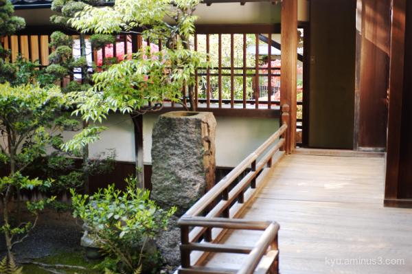 garden Seideneigenin temple Kyoto