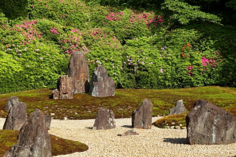 dry-garden komyoin temple kyoto