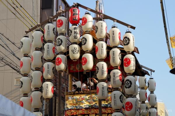 Gion-Festival float Iwatoyama Kyoto