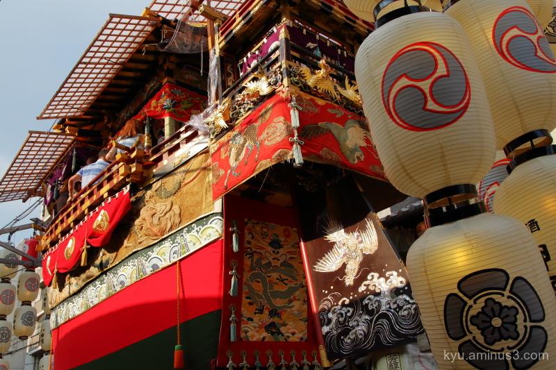 Gion-Festival float Funaboko Kyoto