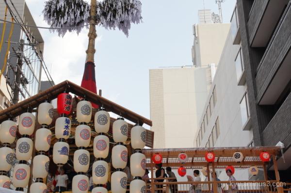 Gion-Festival float Kikusuiboko Kyoto