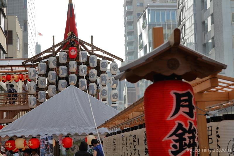 Gion-Festival float Tsukiboko Kyoto
