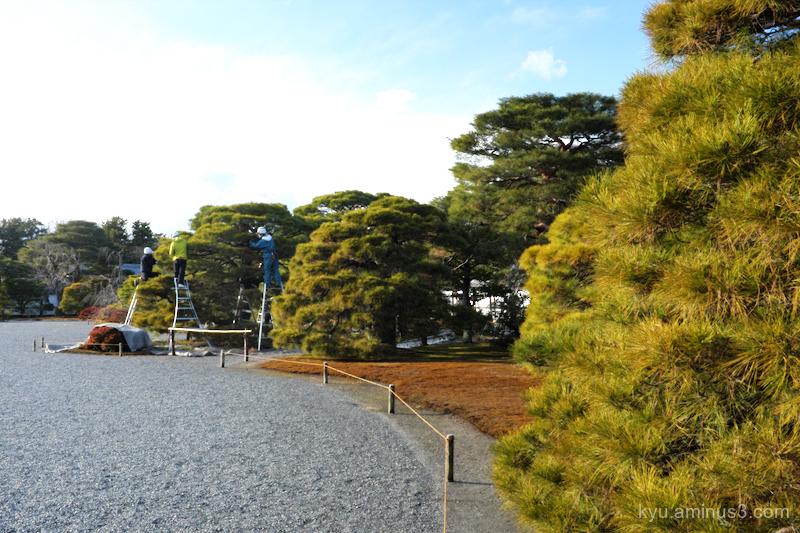 maintaining Gosho Kyoto