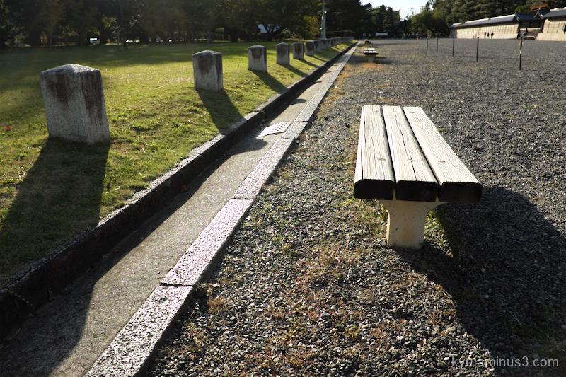 bench Gosho Kyoto
