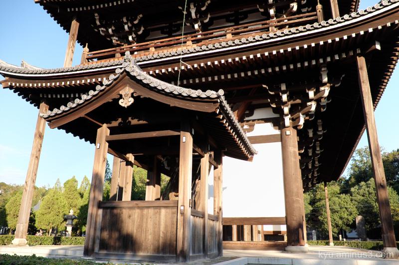 afernoon-light Tofukuji temple Kyoto