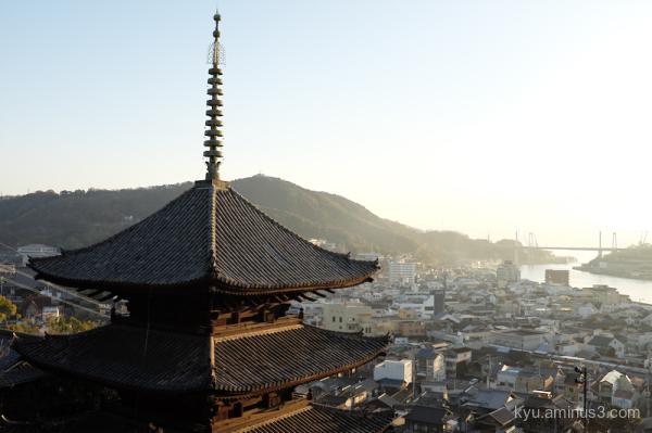 slope pagoda Onomichi Hiroshima