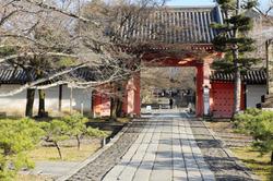go-straight approach Shinnyodo temple Kyoto
