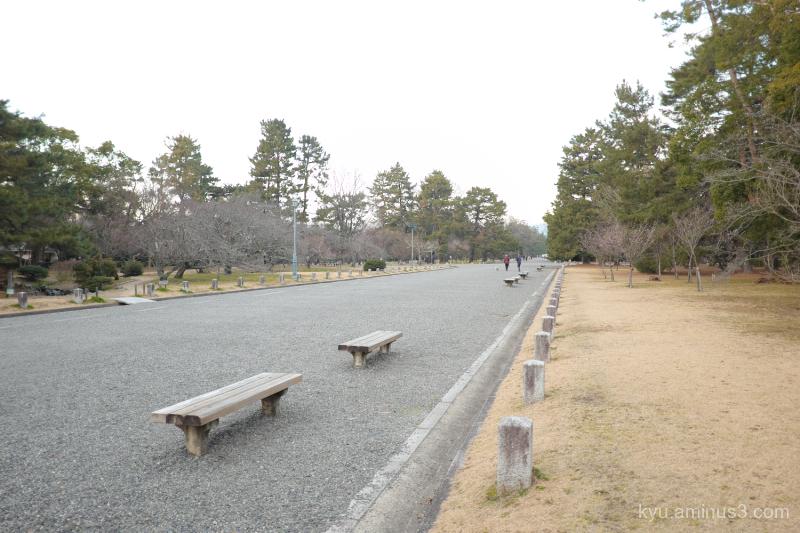 winter Gosho Kyoto