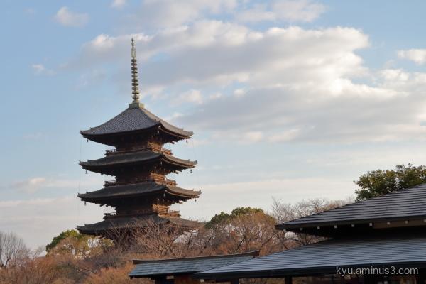 pagoda Toji temple Kyoto