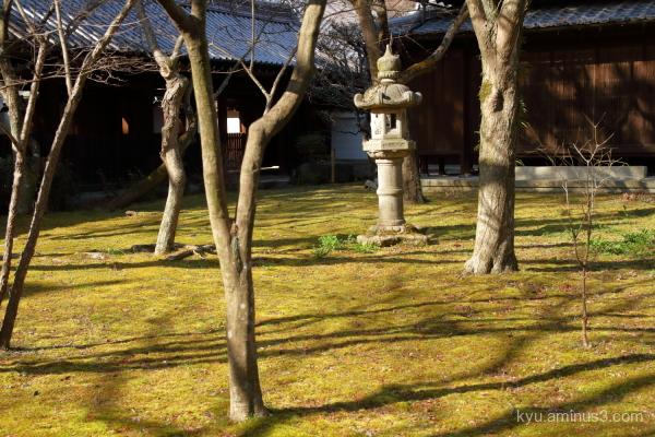 stone-lantern Shinnyodo temple Kyoto