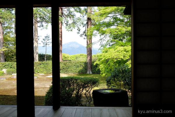 borrow-landscape garden Entsuji temple Kyoto
