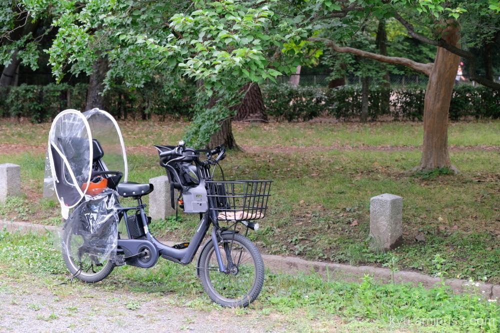 three-seater bicycle Gosho Kyoto
