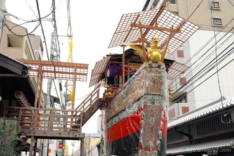 Gion-Festival Funaboko float Kyoto