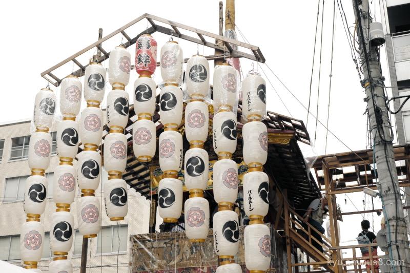 Gion-Festival Niwatoriboko float Kyoto