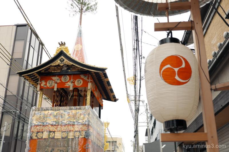 Gion-festival Iwatoyama float Kyoto
