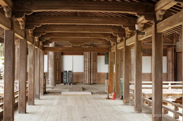 cloister temple Inami Toyama