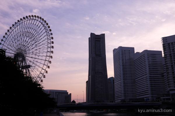 sunset Yokohama Kanagawa