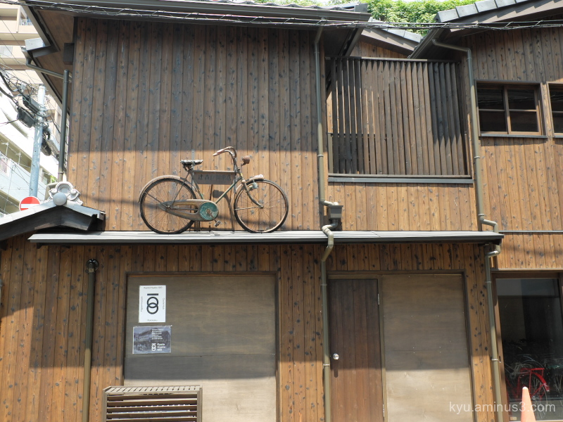 bicycle roof Bicycle-Sunday Kyoto