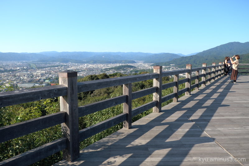 city-view Shogunzuka Seiryuden temple Kyoto