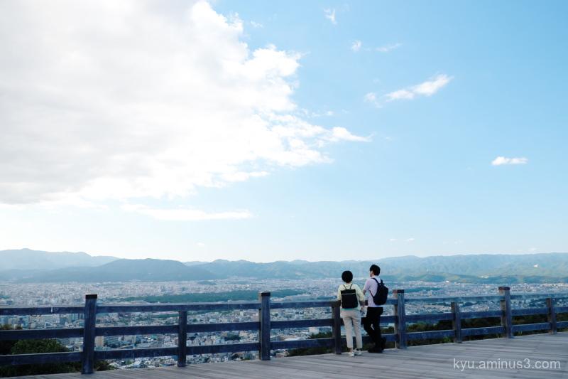 view Shogunzuka Shiryuden temple Kyoto