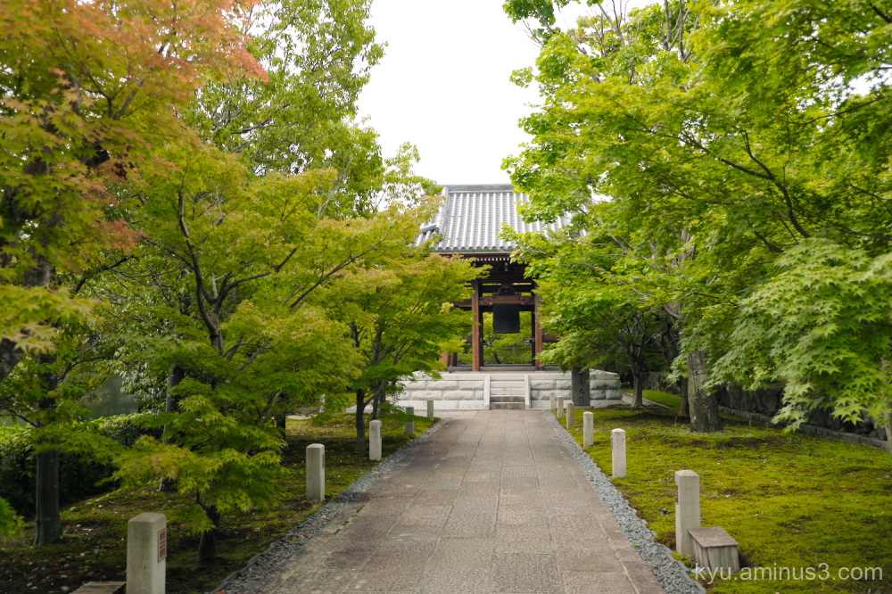 bell-tower Chishakuin temple Kyoto