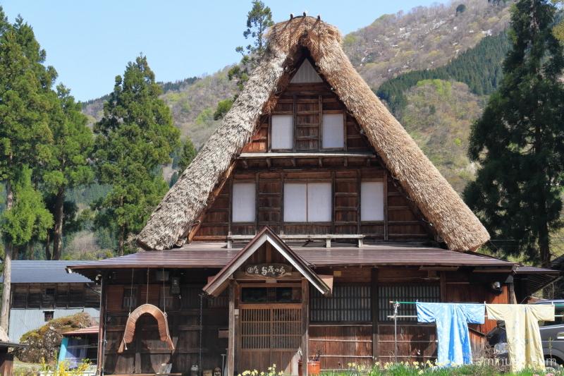 thatched-roof houses Ainokura Gokayama Toyama