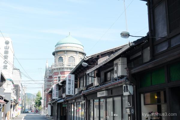 afternoon-walk Nishihonganji temple Kyoto