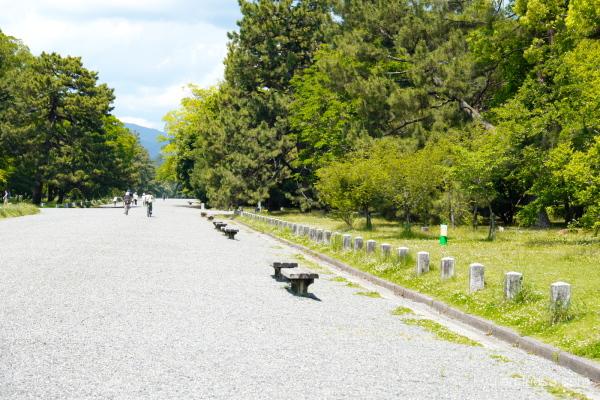 sunny-day Gosho Kyoto