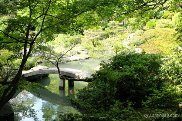 garden Shorenin temple Kyoto