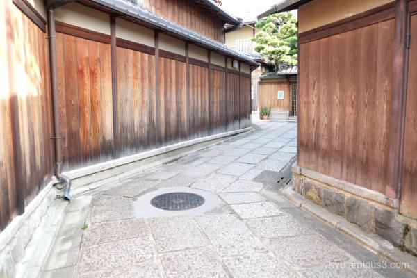 winding-road Ishibekoji Kyoto