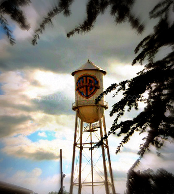 The iconic WB water tower