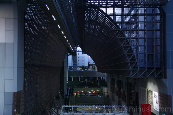 Kyoto station building #3 京都駅