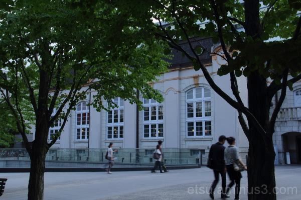 Kyoto prefectural library 京都府立図書館