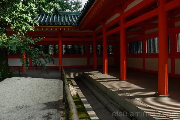 a hot day in Heian shrine 平安神宮
