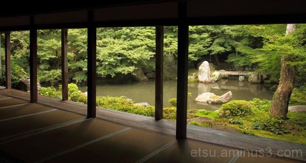 garden in Rengeji temple 庭 蓮華寺