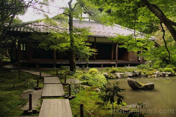 gareden in Rengeji temple 庭 蓮華寺