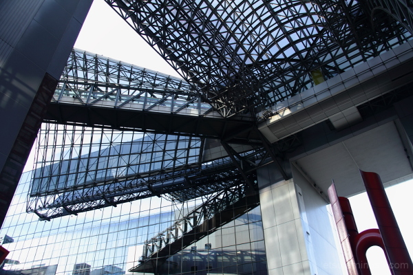 Kyoto station building 京都駅ビル