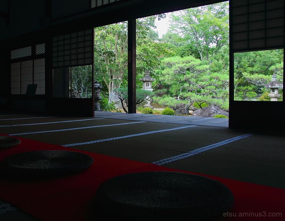 garden in Myoumanji temple