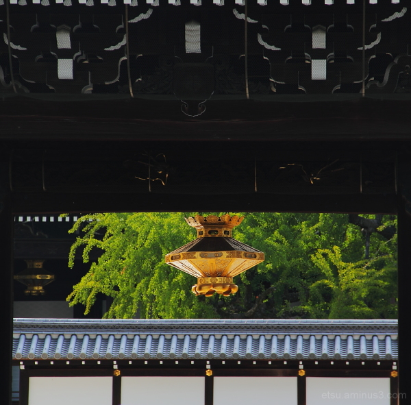The main gate of the temple 西本願寺
