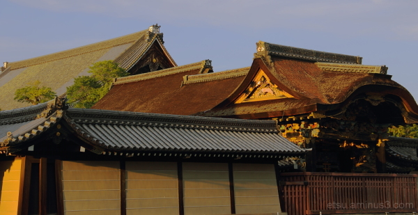 The gogeous gate(from the outside) 西本願寺 唐門