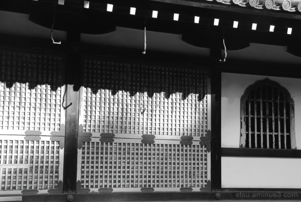 Light and shade(at the temple) 泉涌寺