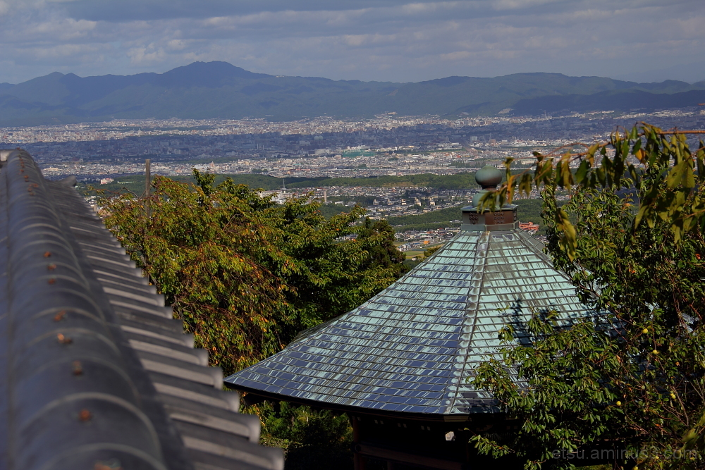 Do you see a cityscape? 善峯寺