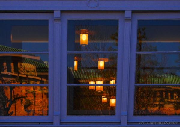 Reflections 府立図書館