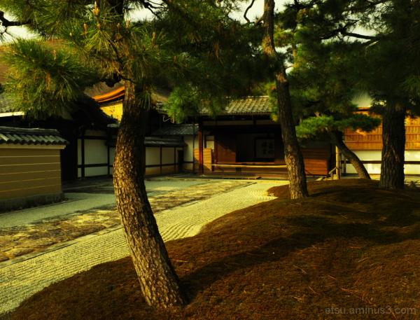 Toward evening 建仁寺