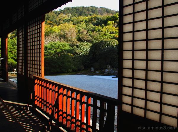 Seeing a garden 金地院