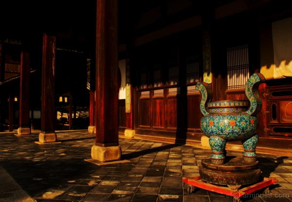 Toward evening 萬福寺