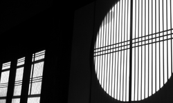 Light and shadow (windows of a temple)