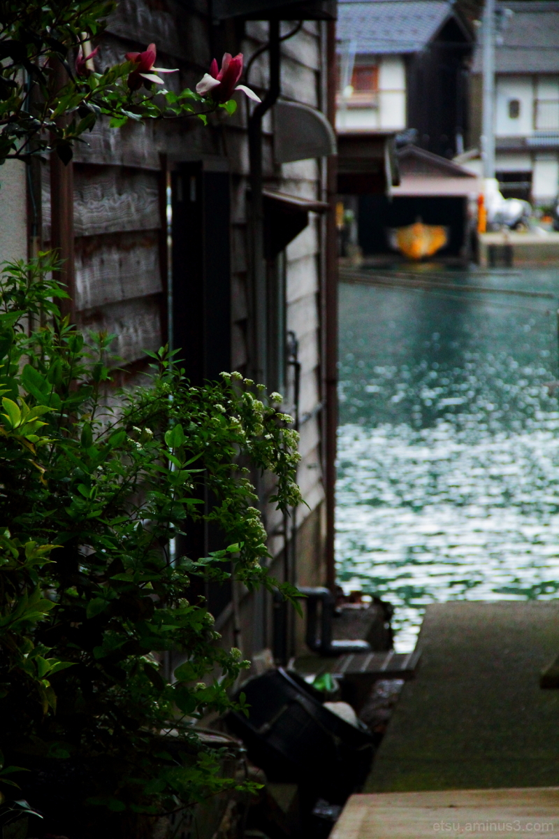 An alley at a port 伊根